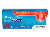 Ibuprofene Mylan 200 Mg, Comprimé Enrobé à BOURBOURG