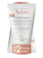 Avène Eau Thermale Cold Cream Duo Crème Mains 2x50ml à BOURBOURG