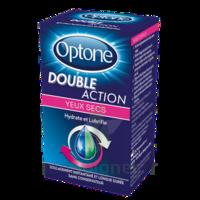 Optone Double Action Solution Oculaire Yeux Secs Fl/10ml à BOURBOURG