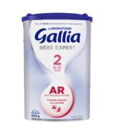 Gallia Bebe Expert Ar 2 Lait En Poudre B/800g à BOURBOURG