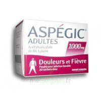 Aspegic Adultes 1000 Mg, Poudre Pour Solution Buvable En Sachet-dose 20 à BOURBOURG