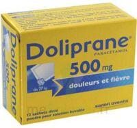 Doliprane 500 Mg Poudre Pour Solution Buvable En Sachet-dose B/12 à BOURBOURG