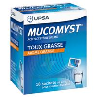 Mucomyst 200 Mg Poudre Pour Solution Buvable En Sachet B/18 à BOURBOURG