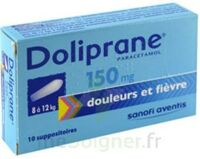 Doliprane 150 Mg Suppositoires 2plq/5 (10) à BOURBOURG