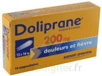 Doliprane 200 Mg Suppositoires 2plq/5 (10) à BOURBOURG
