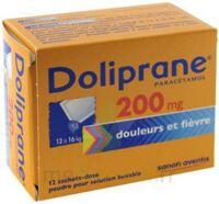Doliprane 200 Mg Poudre Pour Solution Buvable En Sachet-dose B/12 à BOURBOURG