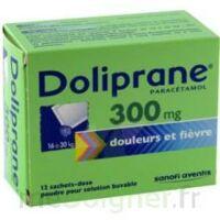 Doliprane 300 Mg Poudre Pour Solution Buvable En Sachet-dose B/12 à BOURBOURG