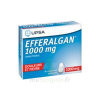 Efferalgan 1000 Mg Comprimés Pelliculés Plq/8 à BOURBOURG