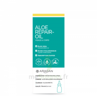 Aragan Aloé Repair-oil Huile Concentration X 2*fl/50ml à BOURBOURG