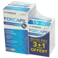 Forcapil Gélules Croissance Vitalité Cheveux Ongles B/180+60 à BOURBOURG