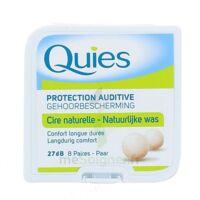 Quies Protection Auditive Cire Naturelle 8 Paires à BOURBOURG