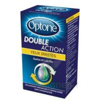 Optone Double Action Solution Oculaire Yeux Irrités Fl/10ml à BOURBOURG