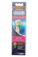 Brossette De Rechange Oral-b Floss Action X 3 à BOURBOURG