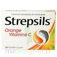 Strepsils Orange Vitamine C, Pastille à BOURBOURG