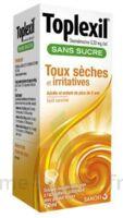 Toplexil 0,33 Mg/ml Sans Sucre Solution Buvable 150ml à BOURBOURG