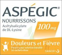 Aspegic Nourrissons 100 Mg, Poudre Pour Solution Buvable En Sachet-dose à BOURBOURG
