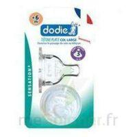 Dodie Sensation+ Tétine Plate Débit 2 Silicone 0-6mois à BOURBOURG