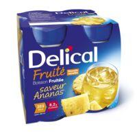 Delical Boisson Fruitee Nutriment Ananas 4bouteilles/200ml à BOURBOURG