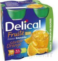Delical Boisson Fruitee Nutriment édulcoré Orange 4bouteilles/200ml à BOURBOURG
