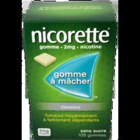Nicorette 2 Mg Gom à Mâcher Médic Sans Sucre Menthe Fraîche Plq/105gom à BOURBOURG