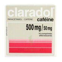 Claradol Cafeine 500 Mg/50 Mg, Comprimé Effervescent à BOURBOURG