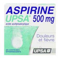 Aspirine Upsa 500 Mg, Comprimé Effervescent à BOURBOURG