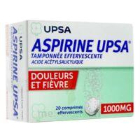 Aspirine Upsa Tamponnee Effervescente 1000 Mg, Comprimé Effervescent à BOURBOURG