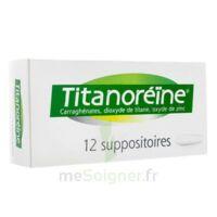 Titanoreine Suppositoires B/12 à BOURBOURG