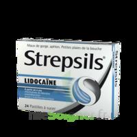 Strepsils Lidocaïne Pastilles Plq/24 à BOURBOURG