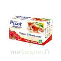 Picot Maman Tisane D'allaitement Fruits Rouges 20 Sachets à BOURBOURG