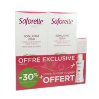Saforelle Solution Soin Lavant Doux 2*500ml+100ml à BOURBOURG