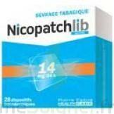 Nicopatchlib 14 Mg/24 H Dispositifs Transdermiques B/28 à BOURBOURG