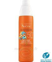 Avène Eau Thermale Solaire Spray Enfant 50+ 200ml à BOURBOURG