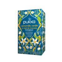 Pukka Bio Camomille, Vanille Et Miel De Manuka Tisane Relax 20 Sachets à BOURBOURG