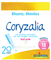 Boiron Coryzalia Solution Buvable Unidose B/20 à BOURBOURG