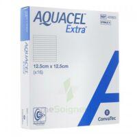 Aquacel Extra Pansement Hydrofiber Stérile 12,5x12,5cm B/16 à BOURBOURG