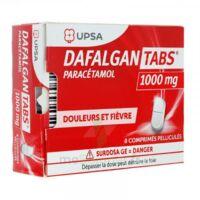 Dafalgantabs 1 G Cpr Pell Plq/8 à BOURBOURG