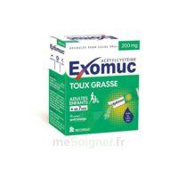 Exomuc 200 Mg, Granulés Pour Usage Oral En Sachet 15 Sachets/2g à BOURBOURG
