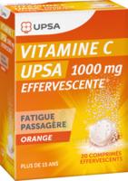 Vitamine C Upsa Effervescente 1000 Mg, Comprimé Effervescent à BOURBOURG