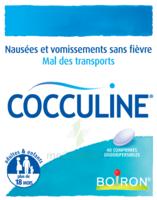 Boiron Cocculine Comprimés Orodispersibles B/40 à BOURBOURG